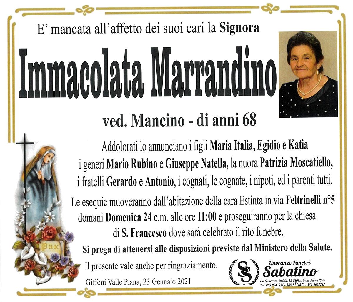 Immacolata Marrandino
